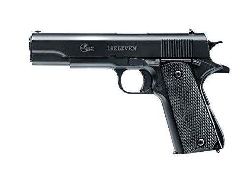 Combat Zone Softair 19 Eleven 0.5 Airsoft Pistole, Schwarz, One Size