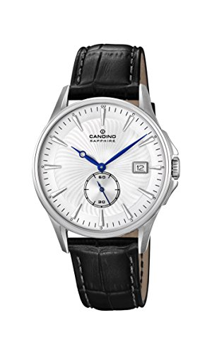 Candino Mens Analogue Classic Quartz Watch with Leather Strap C4636/1