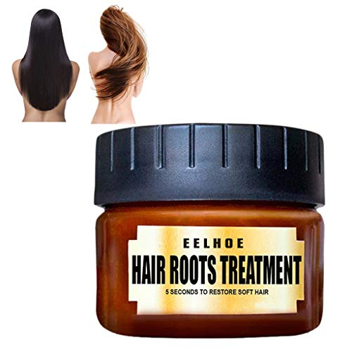 ToDIDAF 1 Pcs Hair Mask, Hair Conditioner, Hair Detoxifying Hair Mask, Advanced Molecular Hair Roots Treatment, Add Protection and Nutrients, Recover Hair Elasticity 60ML -