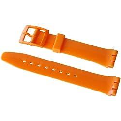 Swatch Fresh Papaya Orange Resin Strap 17mm