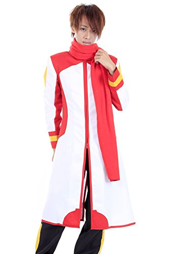 De-Cos Vocaloid Family Cosplay Costume Shion Nigaito White Outfit V1 (Akaito Cosplay Kostüm)