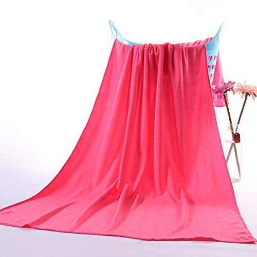ForceSthrength Microfiber Absorbent Drying Bath Beach Towel Washcloth Swimwear Hair Towel - Blue Sky Swimwear Wrap