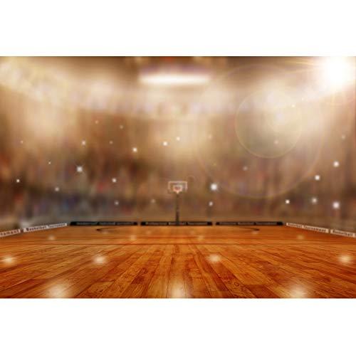 OERJU 1,5x1m Sport Hintergrund Basketball Tagungsort Bokeh Light Halos Glitzert Basketball Hintergrund Sport-Party Kinderspiel Athlet Sportausrüstung Produkt Fotografie schießen Requisiten (Halo-light-fotografie)