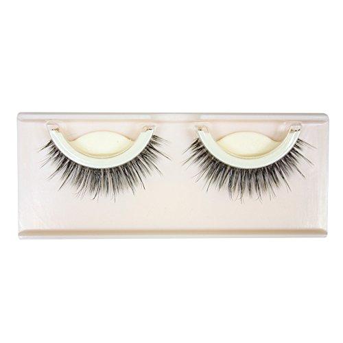Beautyjourney Colle Faux Cils,Nouveau 1Pair Naturel Long éPais Soft Auto-AdhéSif Faux Cils Faits Main Faux Cils Huda Beauty Kit Faux Cils (D)
