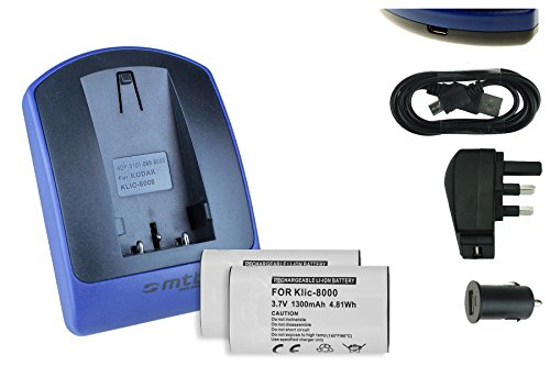 2-batteries-charger-usb-main-car-klic-8000-for-kodak-easyshare-z612-z712-z812-z1012-z1015