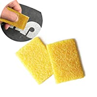 Suprcrne 2 PCS Skateboard Grip Tape Cleaner, Sandpaper cleaner Sanding Belt Cleaning Longboard Dirt Remover Cleaning Tool Accessories