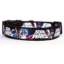 La Guerra De Las Galaxias Star Wars Collar Perro Hecho A Mano Talla M HandMade Dog Collar