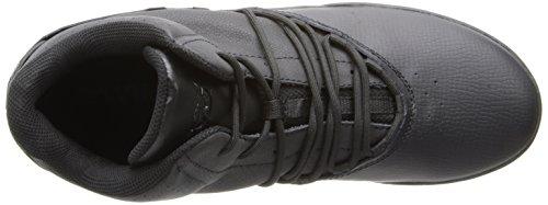 Supra ESTABAN Unisex-Erwachsene Hohe Sneakers Schwarz (BLACK/BLACK - BLACK   BLK)