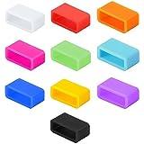 Siliconen bevestigingsmiddelen compatibel met Fitbit, compatibel met Garmin, Misfit, Amiigo, Striiv of Disney MagicBand (kind