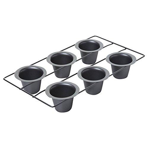 Cup Pan Sechs Cake (Chicago Metallic Aluminium Popover pan-16-inch X 24(6Hohlraum, 7cm x 5,7cm))