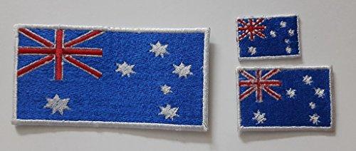Australia flag modello ricamo ganci chiusura in velcro Badge