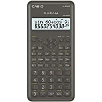 Casio FX-82MS-2-S-ET-B - Calculadora científica, color gris oscuro