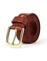 ad1ad39cd38 H-M-STUDIO Cinturón para Hombres Correa De Moda Casual Juvenil Negocio  Primera Capa ...