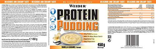 Weider Protein Pudding Vanille-Karamell 450g Dose (Dosen Pudding)