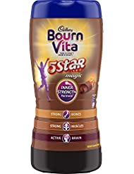 Bournvita 5 Star Magic Health Drink, 500g jar