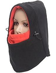 ThreeH Balaclava Chapeau Multifonction Noir pleine couverture Masque pour Temps Froid FM01