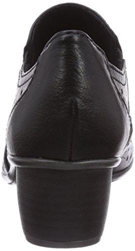 Marco Tozzi 24502, Scarpe chiuse donna Nero (Nero (Black Antic / 2))