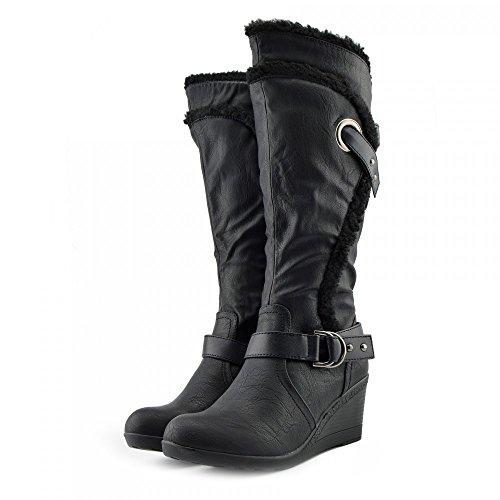 Kick Footwear Kick Footwear, Stivali donna Black