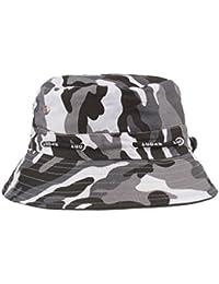 ea3ff3ad210 Bucket Hats Jamicy Women Men Camouflage Adjustable Cap Hats Army Sport  Casual Hip Hop Fisherman Hat