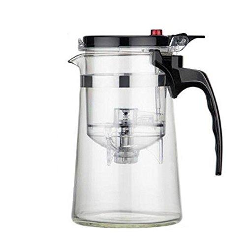 SHULING Entfernen und Kung Fu Teekanne Home mit Aem Kaffee-Filter Hülse Glas Teekanne Verpackt...