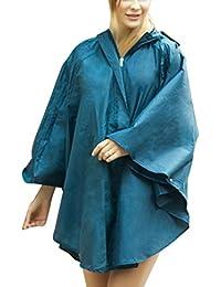 b50f8901650e61 Damen Regenmantel mit Punktmuster Hübsche Mädchen Regenjacke Wasserdicht  Dünn Regenponcho Raincoat