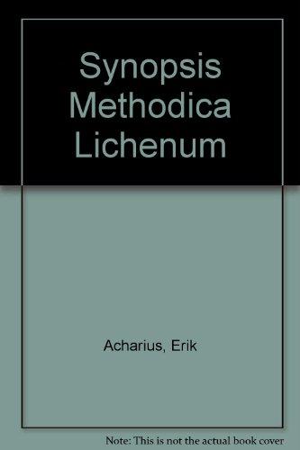 Synopsis Methodica Lichenum