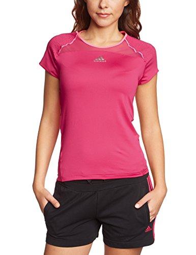 adidas Adizero Capsl T-Shirt Femme Rose - rose