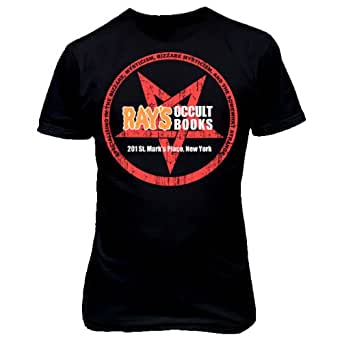 9195 RAYS OCCULT BOOKS T-SHiRT inspired by Ghostbusters paranormal studies (XX-Large, Black)