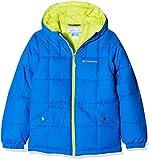 Columbia Wasserabweisende Jacke für Jungen, Gyroslope Jacket, Nylon, Blau (Super Blue/Zour), Gr. L, 1624361