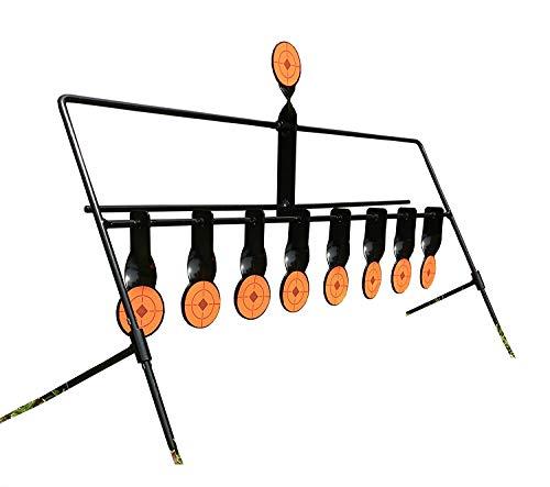 nes Pendelziel Schießspiel Field Target für Luftgewehr Pistole Schwingendes Softair/Airsoft Target 8 +1 Ziel ()