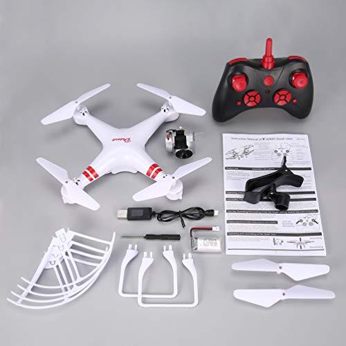 FCGV Ky101 Rc Drone Grandangolare 720P Altitude Hold Fotocamera modalità Headless Quadcopter -White