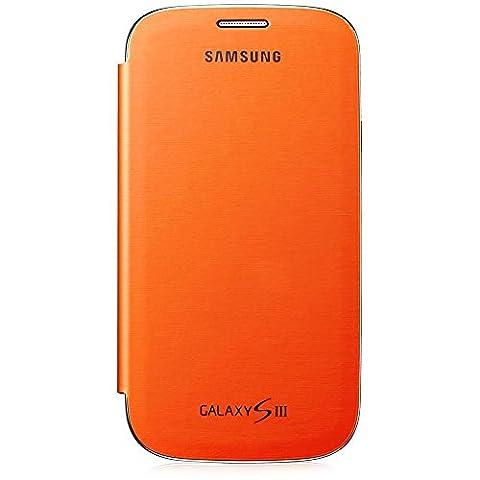 Samsung Notebook Style Etui rabat pour Samsung Galaxy S3 - Orange