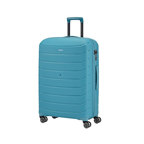 TITAN LIMIT, 77 cm, Trolley, aqua blue, 4 Rollen - (823404-21)
