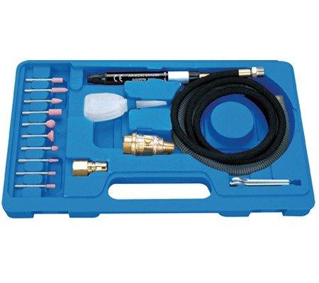 BGS 3249 Kit micro meuleuse pneumatique 17pièces