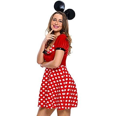 Bling-Bling Polka Dot Mouse Costume(Size,S)