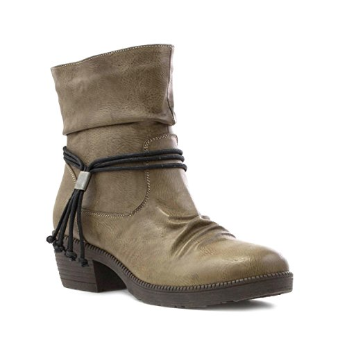 Cushion Walk, Damen Stiefel & Stiefeletten Beige