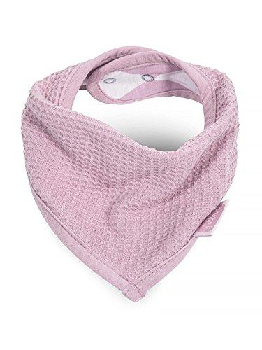 0 Lätzchen bandana Mini waffle, rosa/vintage pink ()