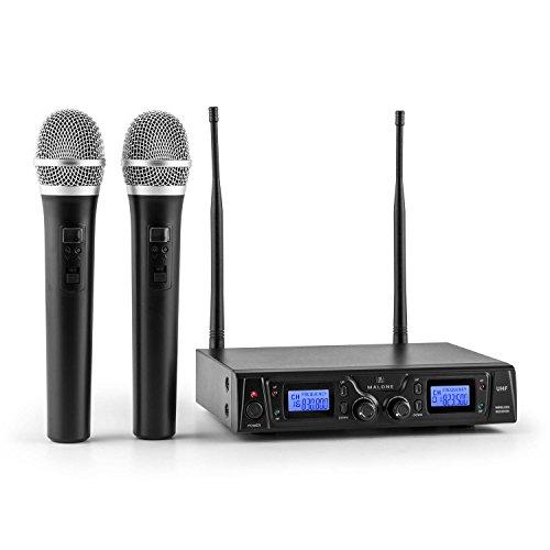 Malone Duett Pro V1 • sistema microfonico radiofonico...