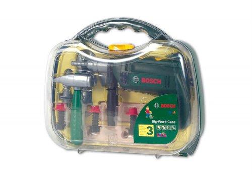 Preisvergleich Produktbild klein Bosch Werkzeugkoffer, groß, transparter Deckel (8416)