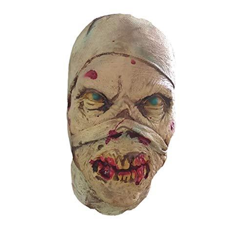 JHLD Halloween Party Masken, Teufel Schädel Thriller Grusel Unheimlich Masken, Requisiten Kostüm-EIN-1 (Werwolf Thriller Kostüm)