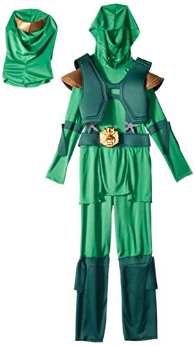 Disguise Green Master Ninja Deluxe Boys Costume M ()