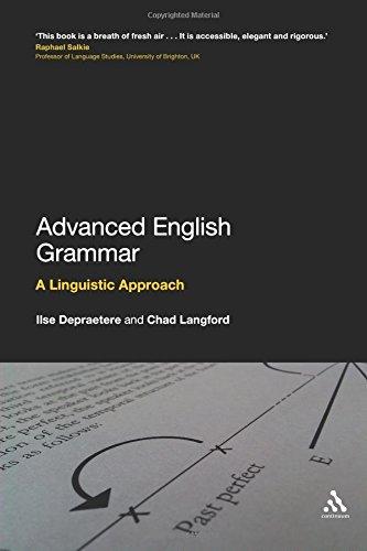 Advanced English Grammar: A Linguistic Approach.