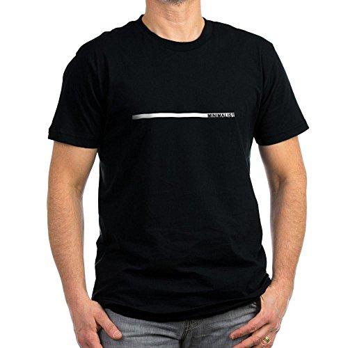 CafePress - Minimalist Men's Fitted T-Shirt (dark) - Men's Fitted T-Shirt (dark)
