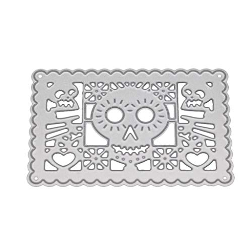 zformen (Skull), Zur Herstellung Von Karten, Grußkarten Weihnachten Präge Schablonen Schablone Vorlage Und Kinder DIY Scrapbook Album Dekoration ()