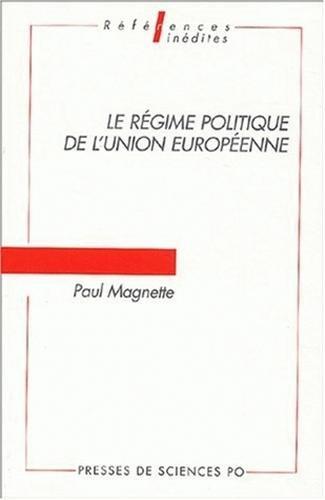Le régime politique de l'Union euro...