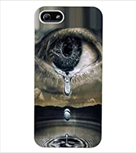 ColourCraft Creative Eye Design Back Case Cover for APPLE IPHONE 5S