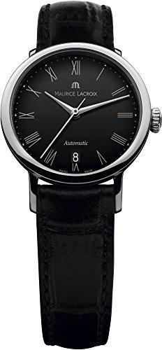 Maurice Lacroix Les Classiques Ladies orologio automatico, 132ml, nero, Cayman