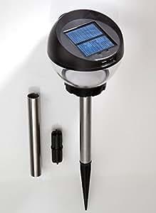 Lampada solare con antizanzare