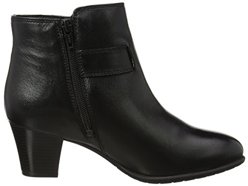 Lotus Genevieve, Stivali Donna Black (Black Leather)