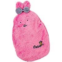Preisvergleich für MSYOU Wärmflasche, süßes Cartoon-Hasen-Design, warme Wassertasche, Handwärmer, tolles Geschenk für Frauen, Mädchen...